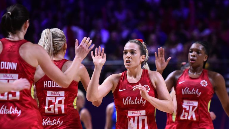 Nat Panagarry's first major tournament for the Roses was the Netball World Cup