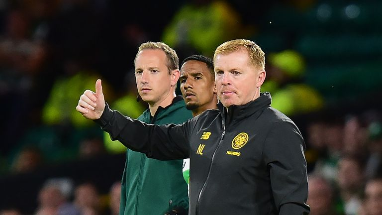 Neil Lennon's Celtic made it through to the second qualifying round of the Champions League