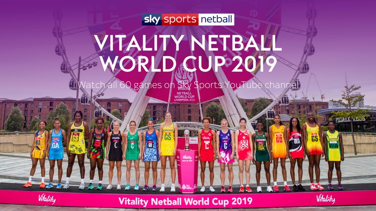 Vitality Netball World Cup 2019 Fixtures and Results