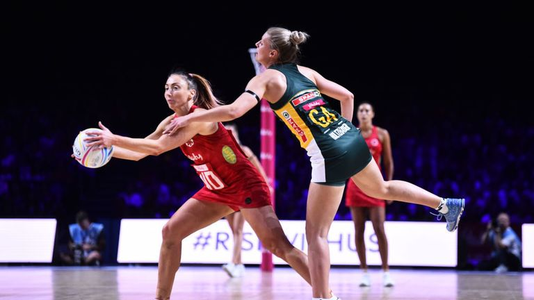 England South Africa Netball World Cup