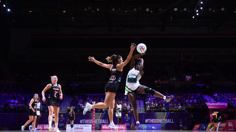 New Zealand at the Netball World Cup