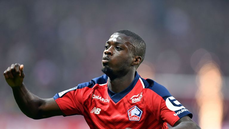 Nicolas Pepe is in demand this summer