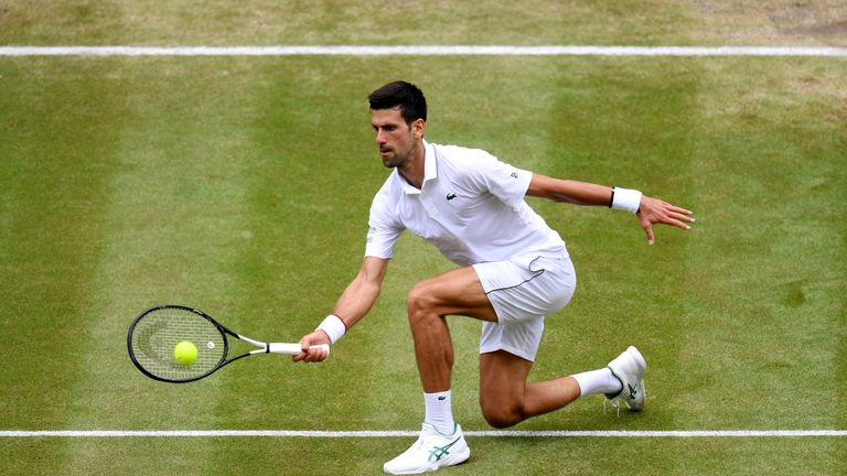 Djokovic has only lost one set at this year's championships, against Hurbert Hurkacz in the third round