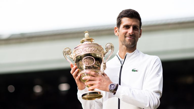 Novak Djokovic defended his Wimbledon title for the second time