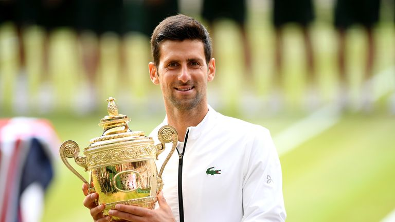 Djokovic secured his 16th Grand Slam with his Wimbledon victory