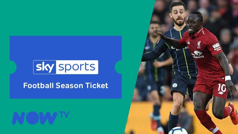 NOW TV Football Season Ticket promo