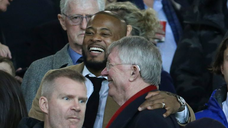 Evra won 10 major trophies, including five Premier Leagues, during his time under Sir Alex Ferguson at Old Trafford
