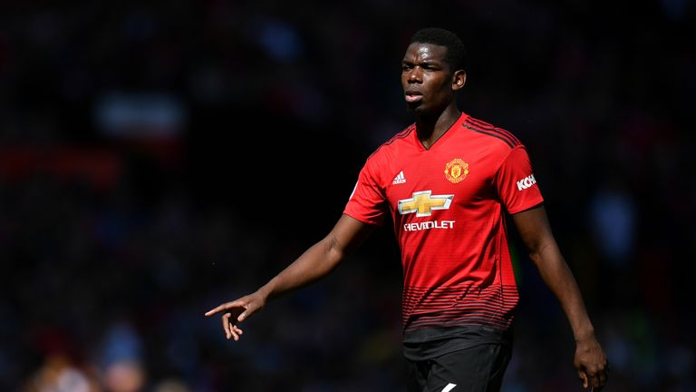 Paul Pogba has joined his Manchester United team-mates on their pre-season tour - despite wanting a move away.