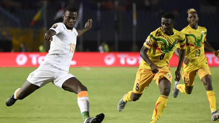 Nicolas Pepe helped Ivory Coast reach the AFCON quarter finals this summer