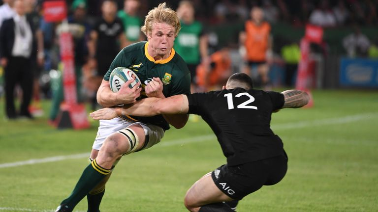 Duane Vermeulen to captain Springboks in Wellington