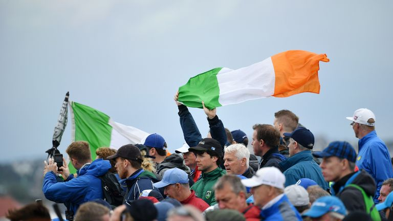 There were record-breaking crowds at Royal Portrush