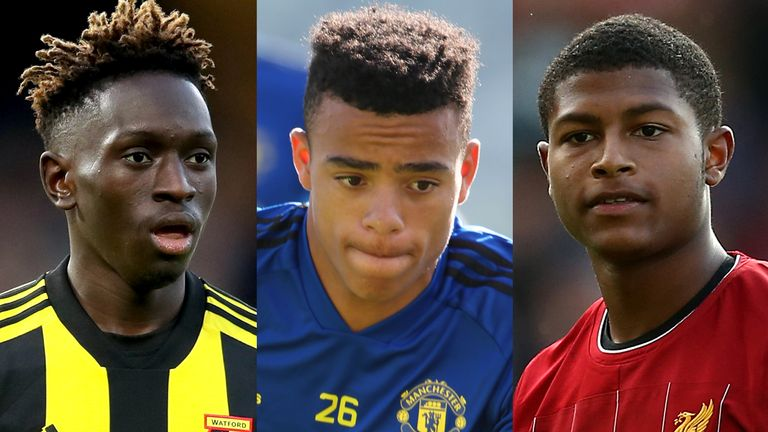 Mason Greenwood (left) and Rhian Brewster could make breakthroughs
