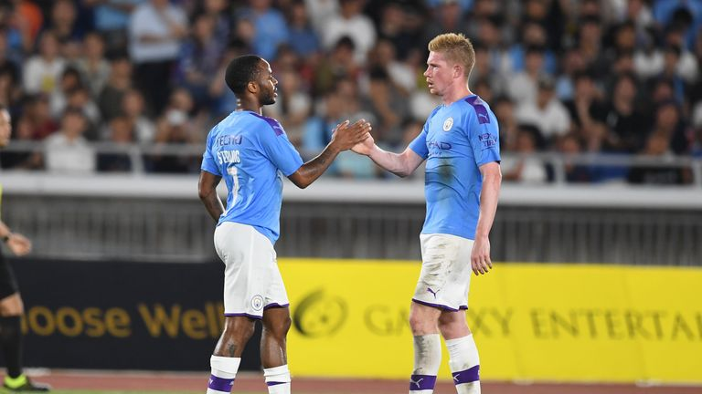 Kevin De Bruyne has impressed during pre-season