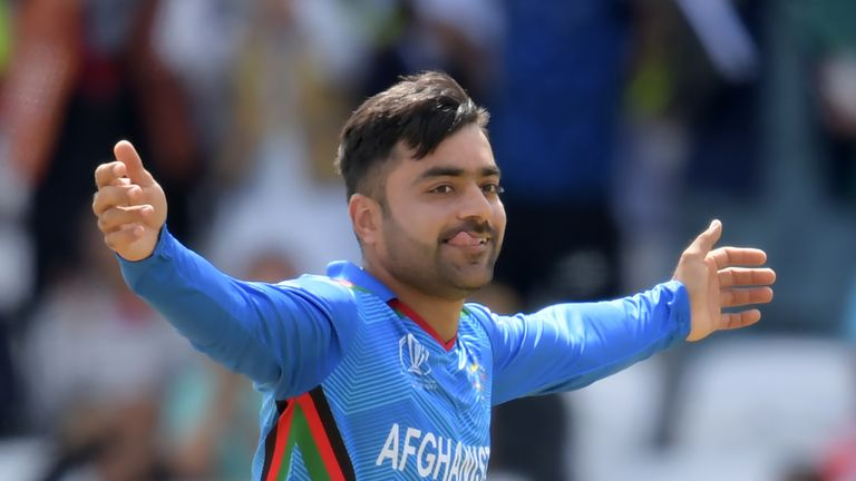 Afghanistan spinner Rashid Khan is priced at £100k