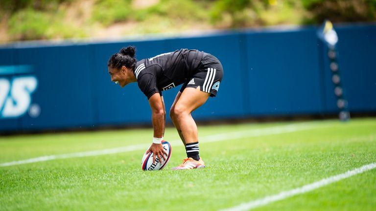Renee Wickliffe scored a hat-trick as New Zealand turned the screw