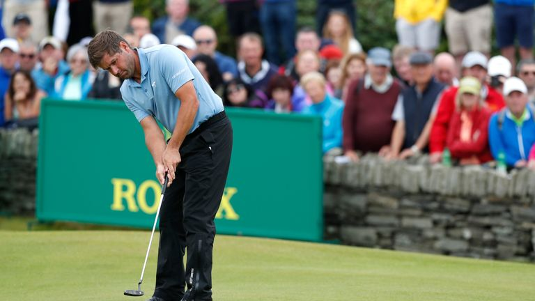 Rock birdied the last six holes but just missed out on a 59