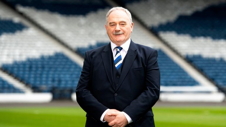 Rod Petrie spent 15 years as chairman of Hibernian