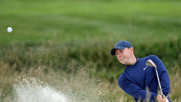 McIlroy is the highest-ranked player in action in Scotland