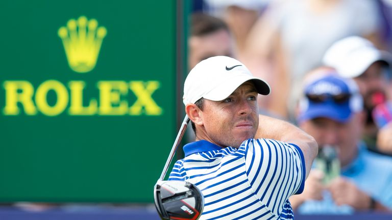 Rory McIlroy is looking to win on home soil this week at The Open