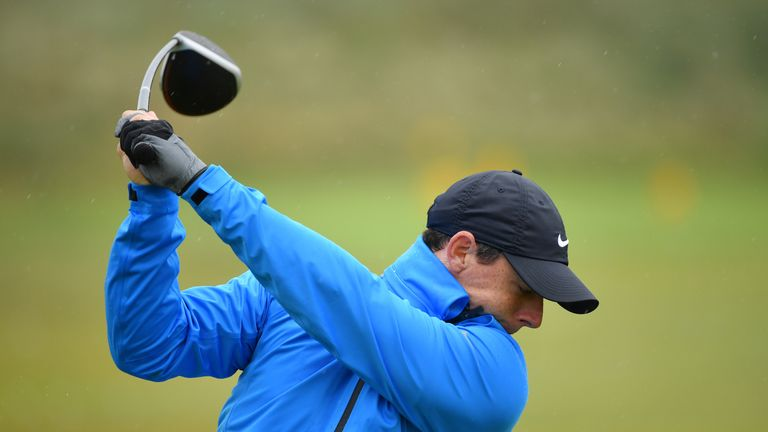 McIlroy has confidence in his course knowledge at Portrush