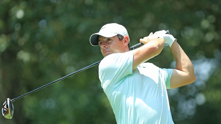 Rory McIlroy stuttered to a disappointing 71 to finish five behind the champion