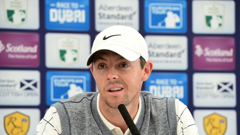 Rory McIlroy is looking to impress at the Scottish Open