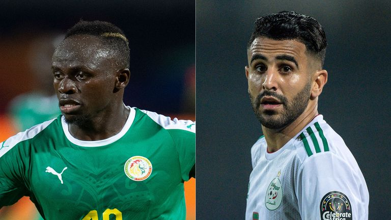 Sadio Mane and Riyad Mahrez will go head-to-head in the Africa Cup of Nations final
