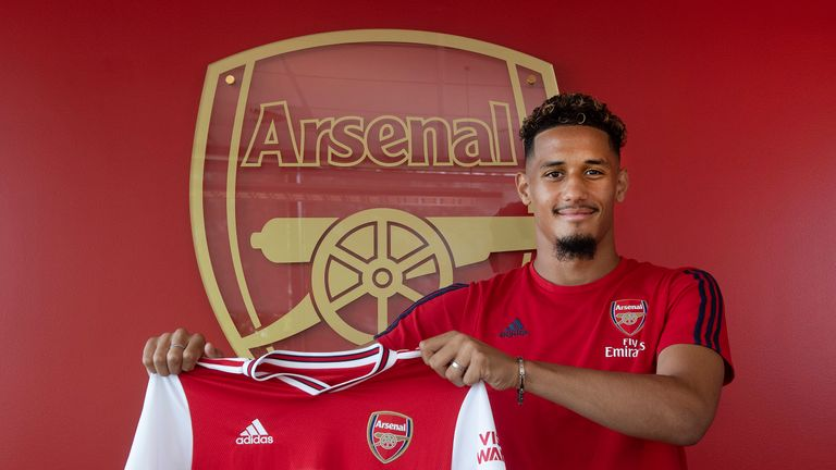 Arsenal signed William Saliba last summer but he went back out on loan to St Etienne