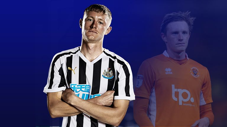 Newcastle United midfielder Sean Longstaff has had a steady but spectacular rise
