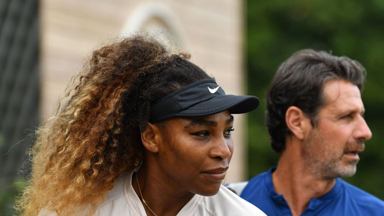 Serena Williams is 'pain-free', according to coach Patrick Mouratoglou
