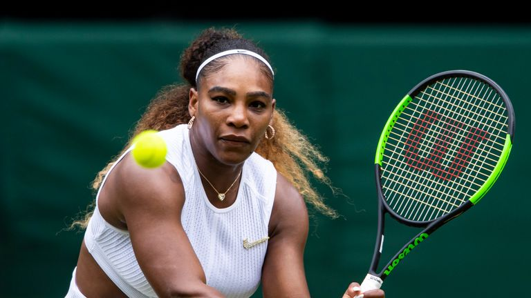 Williams is chasing an eighth Wimbledon singles title