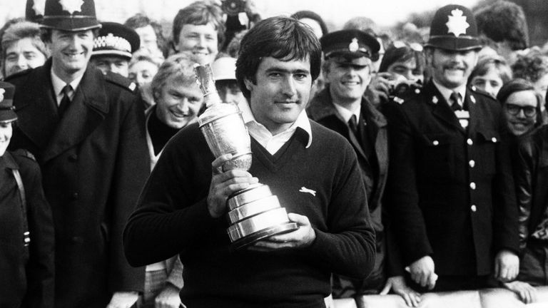 Ballesteros was the only player to end the week under par in 1979