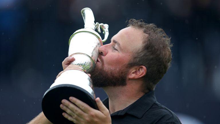 Lowry follows Padraig Harrington, Darren Clarke and Rory McIlroy as Irishmen to have won The Open in the last 12 years