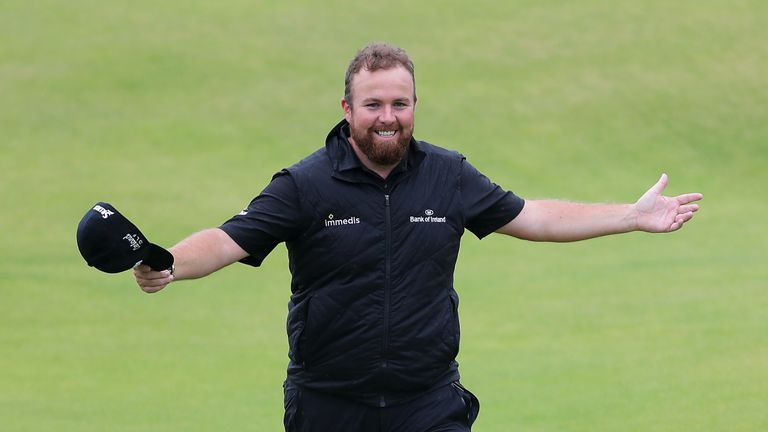 Shane Lowry wins The Open