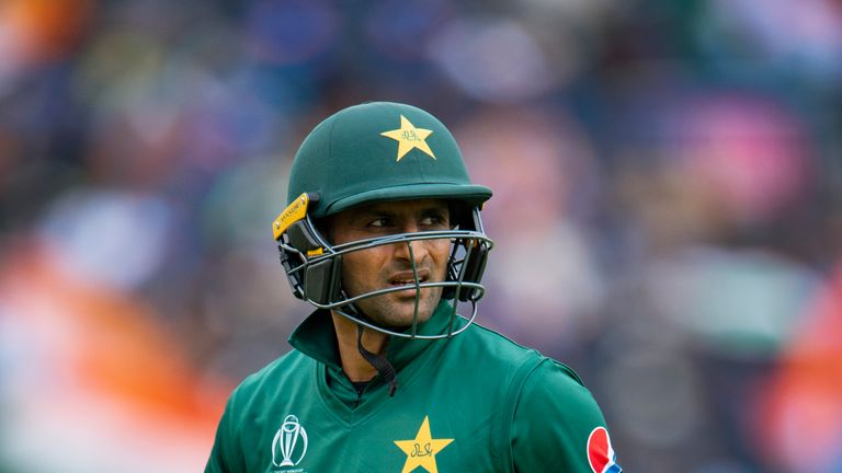 Shoaib Malik went out on a low note for Pakistan