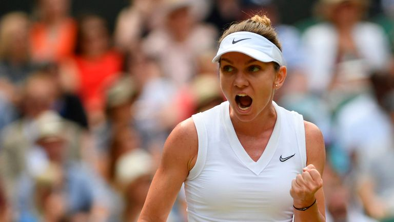 Simona Halep is targeting her second Grand Slam singles title