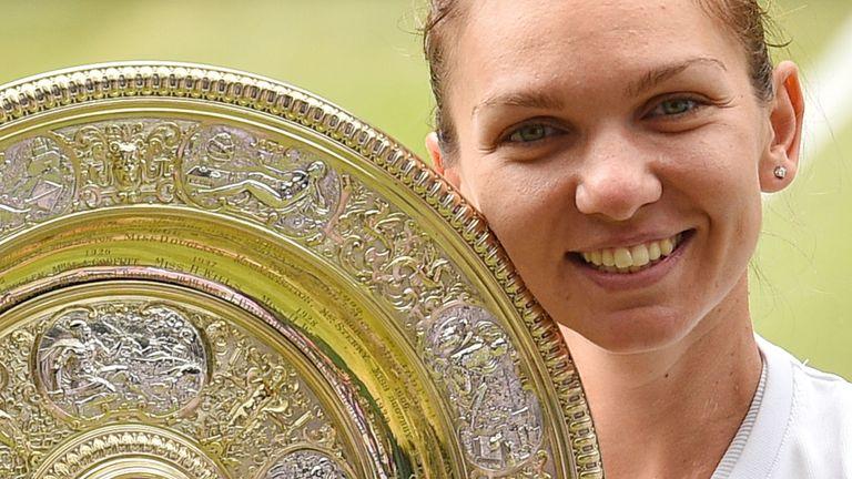 Simona Halep won the 2019 Wimbledon women's singles title