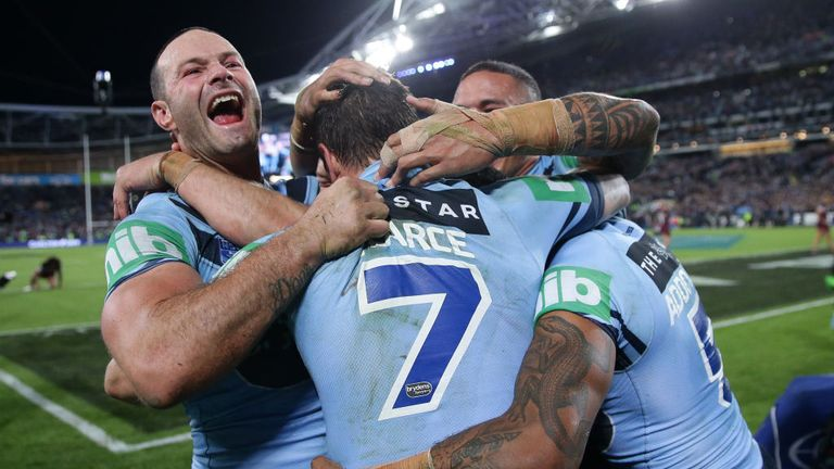 The victory was New South Wales' third Origin series success since