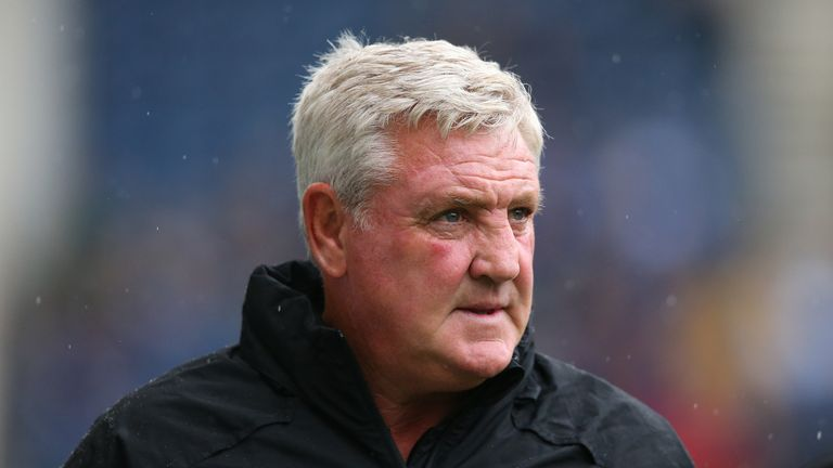 Steve Bruce endured a tough official start to his Newcastle reign