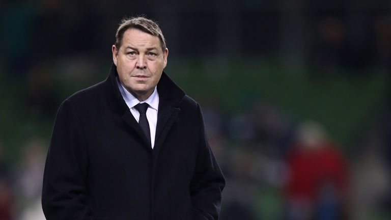 Steve Hansen says New Zealand 'have to roll the dice a bit'