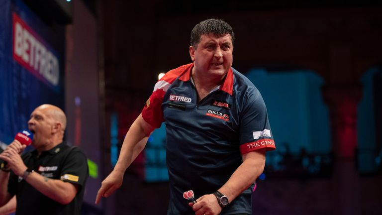 Mensur Suljovic was in bullish mood after lifting his sixth PDC title on Sunday