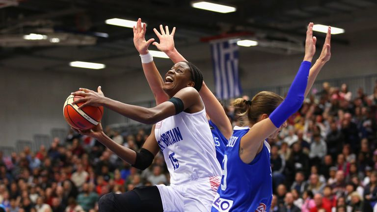 Fagbenle helped Great Britain into the quart-finals at EuroBasket
