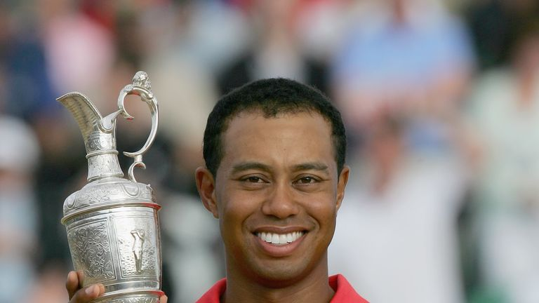 Woods last won The Open in 2006