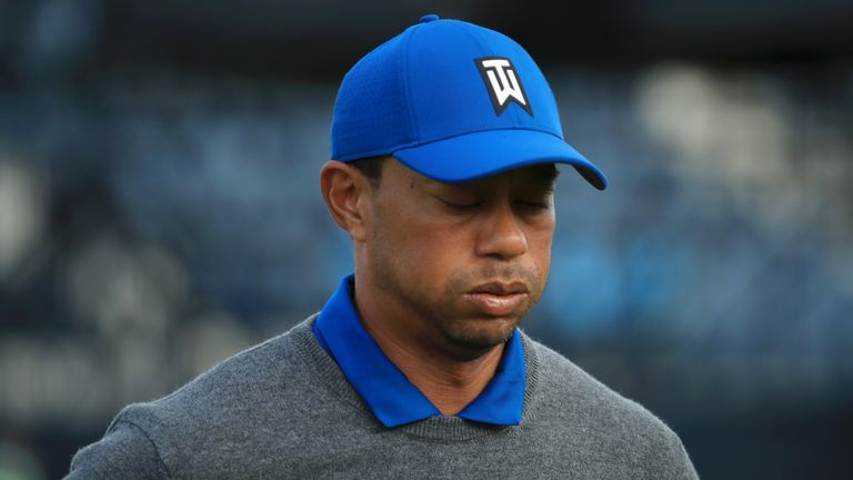 Woods admitted afterwards that his back was sore from the start