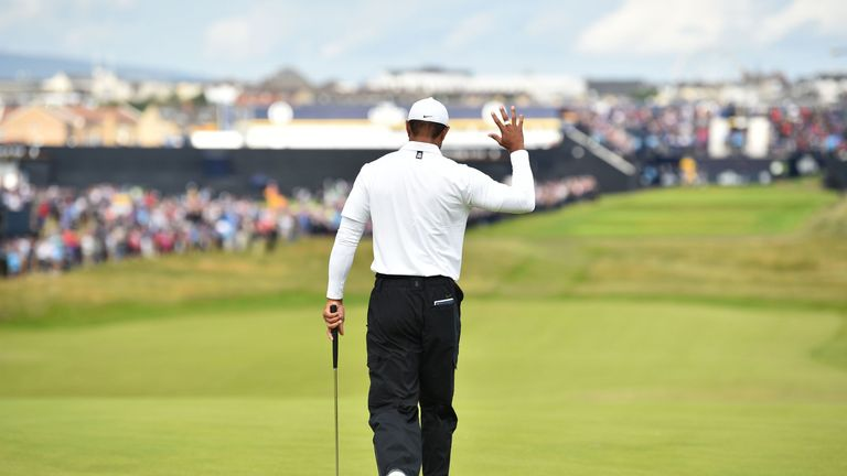 The Open: Tiger Woods unable to make the cut at Portrush