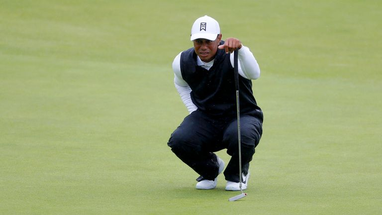 Tiger Woods missed the cut at The Open