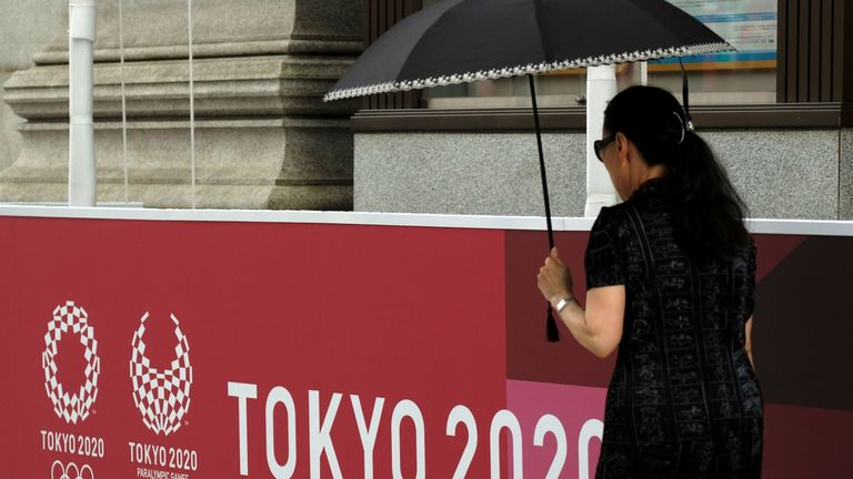 There are concerns about warm weather in Tokyo during the Olympics