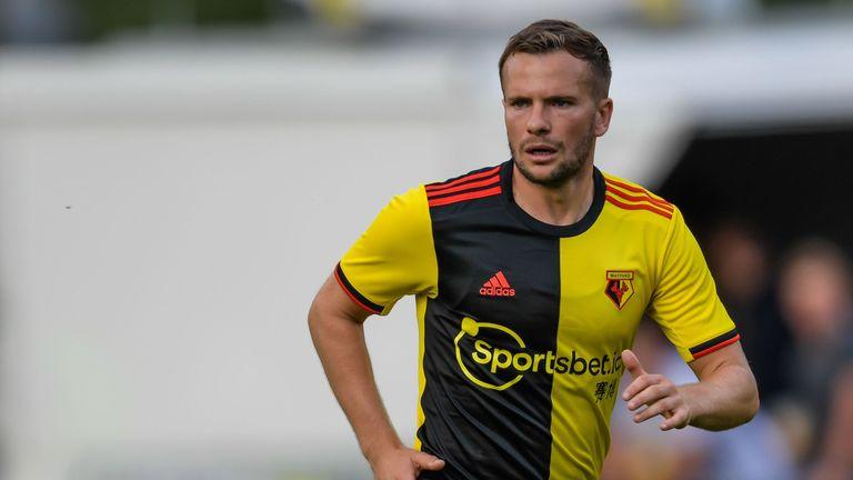 Watford will wear a half-and-half shirt next season