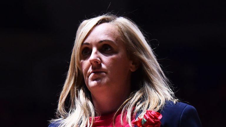 England Netball head coach Tracey Neville