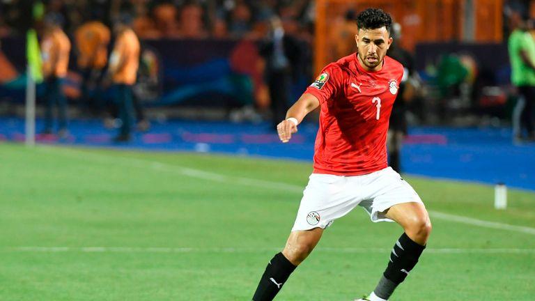 Aston Villa agree personal terms with Egypt's Trezeguet